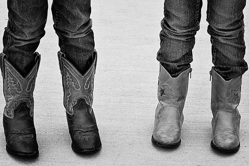 Blog Cowboy Boots B&W