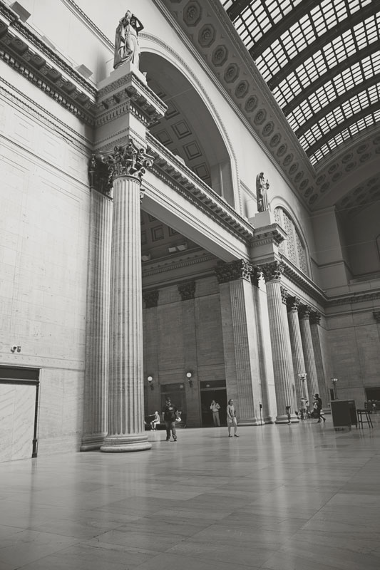 Union-Station-B&W